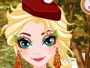 Elsa Face Painting de Thanksgiving
