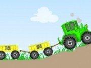 Tractor transportor de marfa