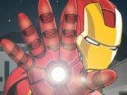 Lupte cu eroul Iron Man
