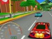 Cursa 3D de masini cu Mario