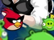 Biliard cu Angry Birds