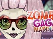 Gaga Zombi machiaj