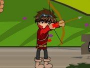 Ben 10 vs Bakugan Tir cu Arcul