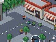 Zombie ataca orasul