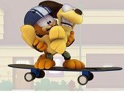 Garfield skateboard