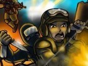 Impuscaturii cu eroii Strike Force