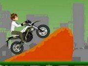 Ben10 cu motocicleta noua