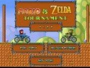 Mario si Zelda Joc curse cu motociclete