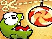 Hraneste monstrul verde cu bomboane