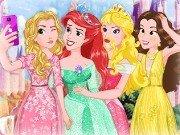 Selfie cu printesele Disney