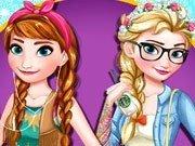 Surorile Frozen: Anna si Elsa