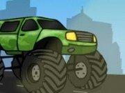 Cursa cu masini Monster Truck