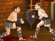 Lupte in arena cu Spartacus