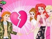 Printesele Disney vrajite de Valentines Day