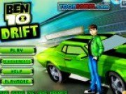 Ben10 in cursa de Drifting