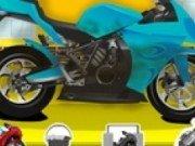 Spala si repara motocicleta