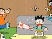 Copii joaca Badminton Japonez