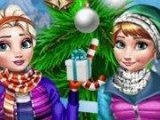 Elsa si Anna in vacanta de iarna