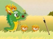 Tras cu prastia vs Dragoni