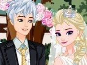 nunta retro cu Elsa si Jack