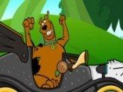 Scooby Doo cu masina rapida
