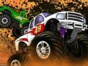 Cursa Hill Ride cu masini Monster Truck