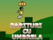 Joc de sarit cu umbrela
