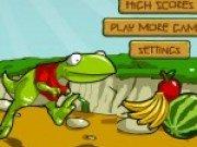 Raptor colecteaza fructe