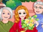 in vizita la bunica