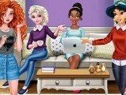 Elsa, Merida, Jasmine si Moana