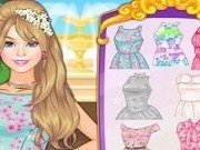 Imbraca pe Barbie in rochii de primavara