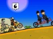Cursa maniaca cu bicicleta