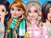 Geci de iarna pentru Printesele Disney