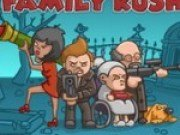 Joc de impuscat zombi cu Familia Rush