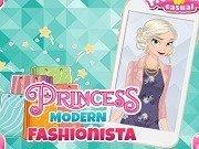 Elsa isi doneaza hainele vechi si cumpara altele noi