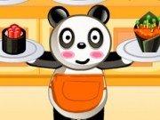 Serveste mancare in restaurantul ursilor panda