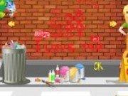 Deseneaza graffiti pe pereti