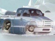 Parcheaza camionul iarna