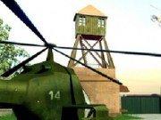 Elicoptere de armata care apara baza
