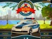 Condu masina politiei si da amenzi