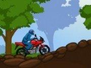 motocross in padure