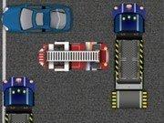 Scoate masina de pompieri din parcare
