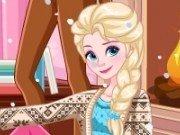 Elsa si Anna iarna