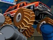 Cascadorii Monster Truck