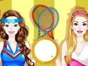 Barbie si Ellie Echipament de Tenis