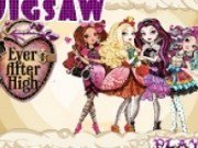 Puzzle cu printesele din Ever After High