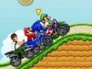 Mario si cursa de motociclete
