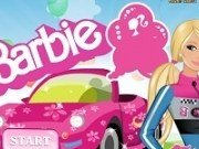 Barbie cursa cu masina