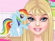 Barbie Machiaj My Little Pony