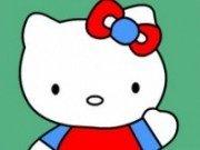Coloreaza pisicuta Hello Kitty